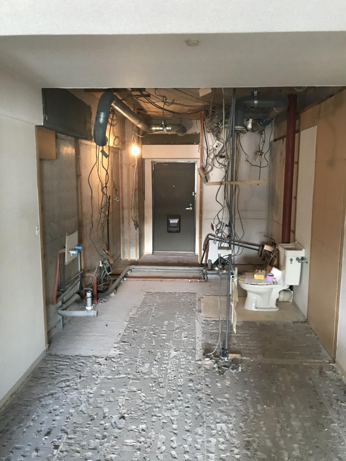 西区マンションの改修工事!
