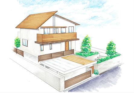 トータリアシンコーの新築ブランド「イエル」イメージ