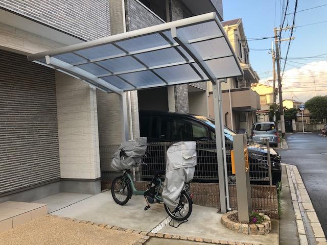 吹田市M様邸 サイクルポート