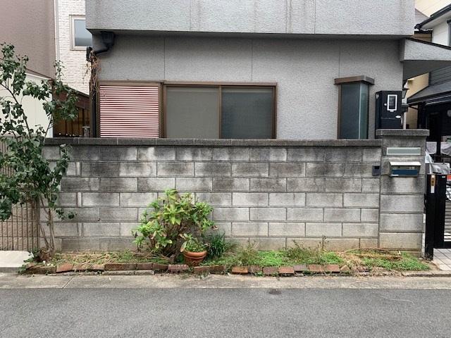 吹田市T様邸 外構補修工事